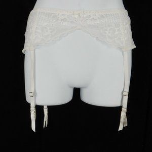 Betsy Johnson Lace Garter Belt Perfectly Sexy O/S